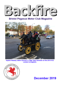 Front cover of December 2019 Issue